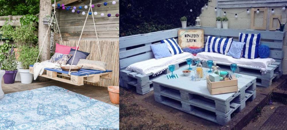 Meble Ogrodowe Z Palet Instrukcja : Meble z palet – 10 inspiracji – ósmą chcesz mieć w ogrodzie!