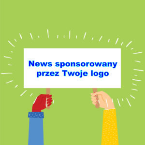 news sponsorowany przez Twoje logo