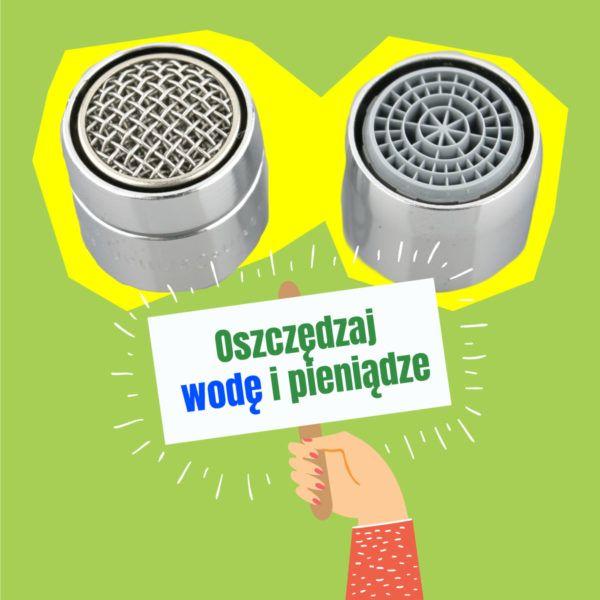 #ekologo oszczędzaj wodę z perlatorem